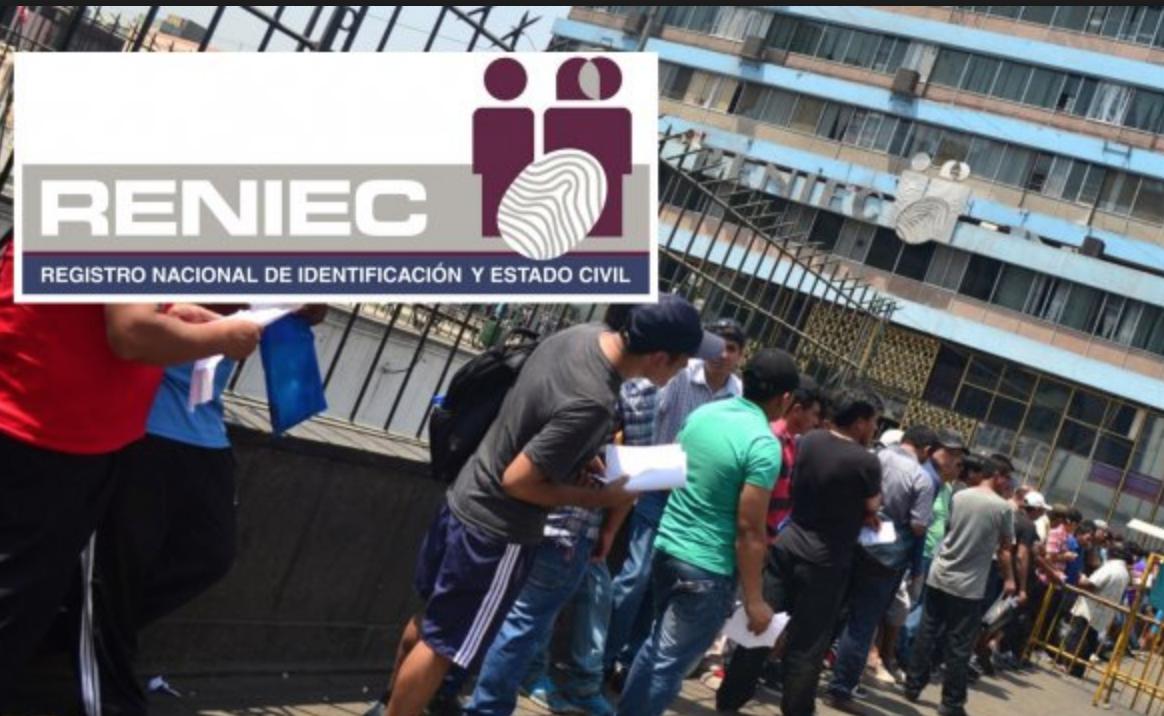 RENIEC – varias oportunidades de empleo en Perú